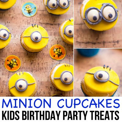 Minion Cupcakes – fun and easy treat for a Despicable Me theme party