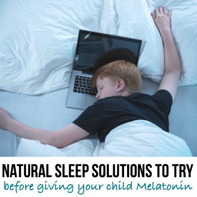 Non-medicated solutions to try before giving melatonin to your ADHD child