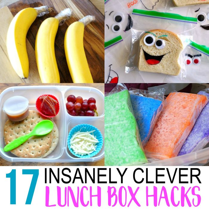 Back to School Hacks: 17 Awesome Lunch Tips