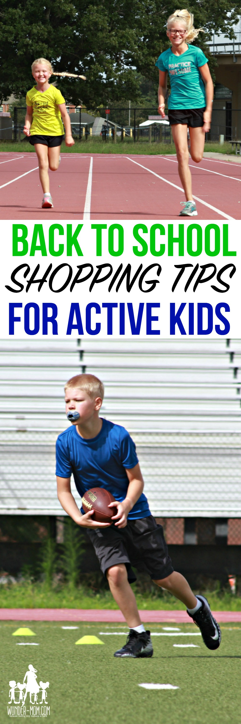 fall sports gear back to school shopping for active kids