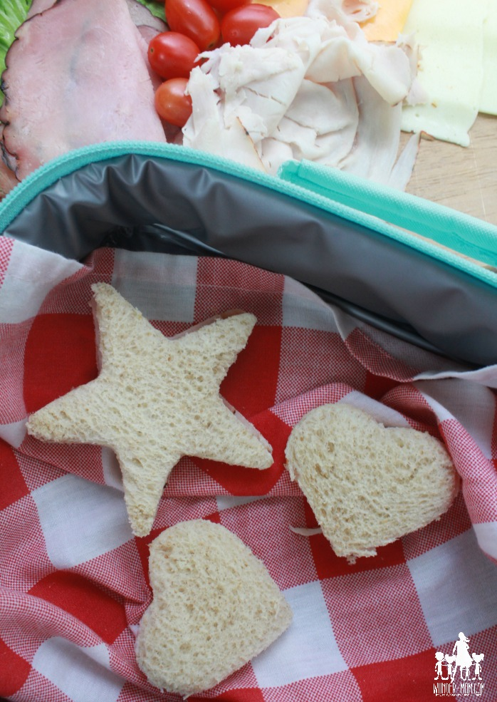 sandwich shapes kids sandwich idea