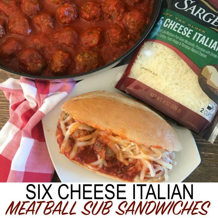 Six Cheese Italian Meatballs