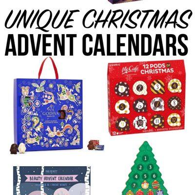 18 Unique Christmas Advent Calendar Ideas