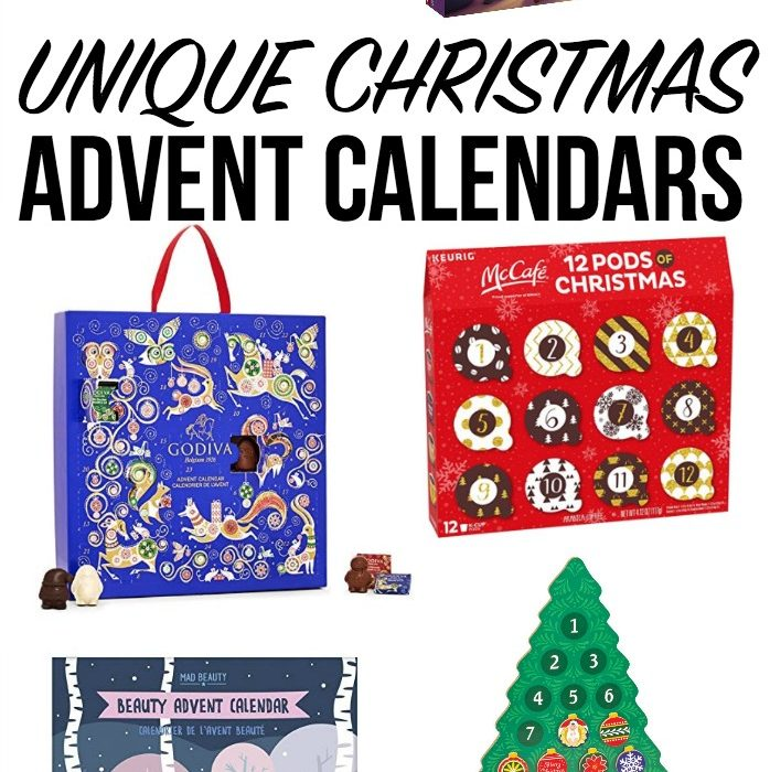 18 Unique Christmas Advent Calendar Ideas