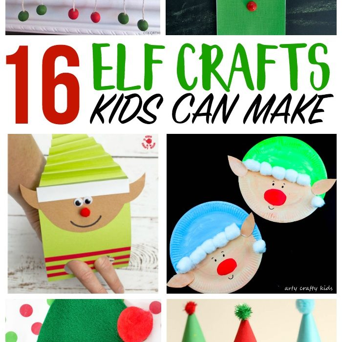 17 Elf Crafts for Kids to Make