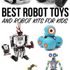 best robot toys, robot kits for kids