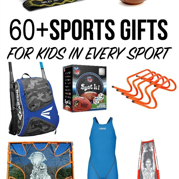 60+ Sports Gifts for Kids