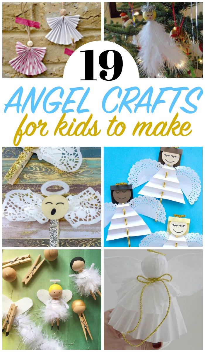 Angel Crafts for kids, Christmas Crafts