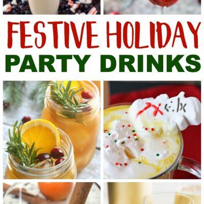 Christmas Open House Festive Holiday Drink Ideas