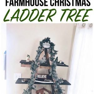 CHRISTMAS LADDER TREE