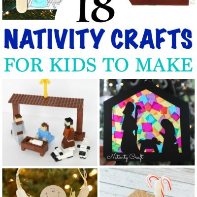 Nativity Crafts for Kids to make and learn about the meaning of Christmas