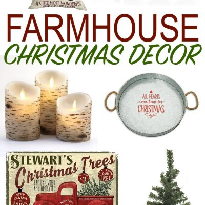 Farmhouse Christmas Decorations that are Actually Affordable