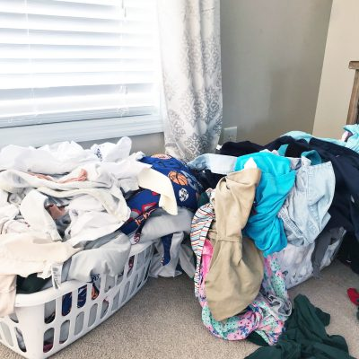 laundry tips, laundry routine