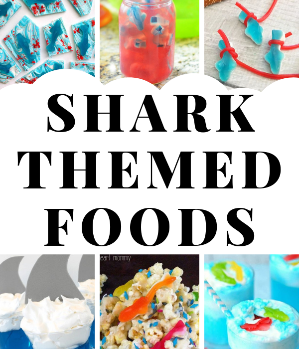 Shark themed food