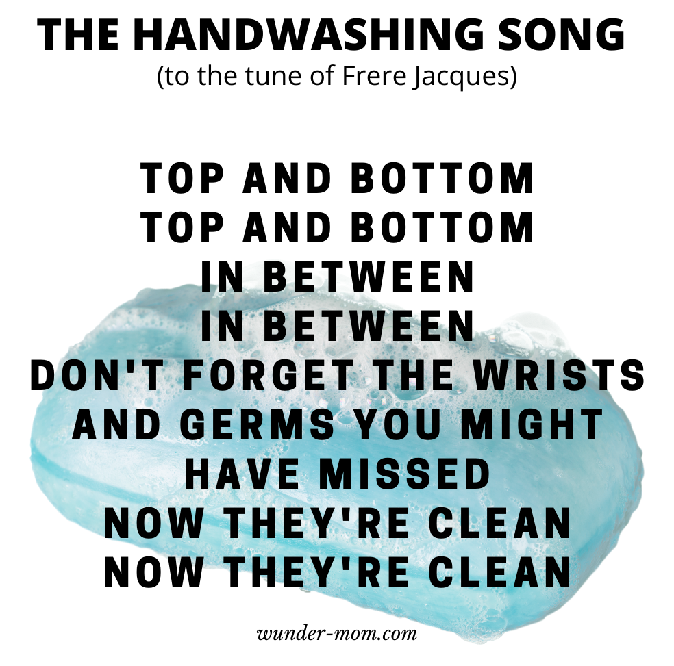 TEACH KIDS HOW TO WASH THEIR HANDS WITH THE HAND WASHING SONG