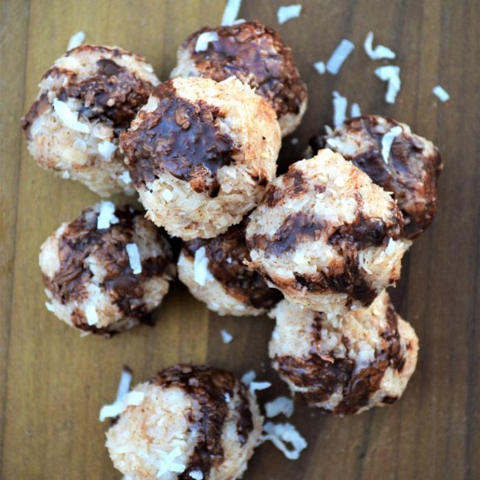 No Bake Coconut Dessert balls