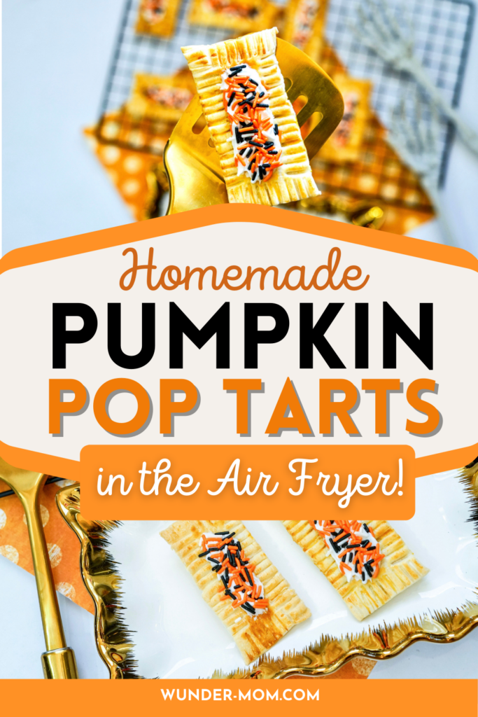 pumpkin homemade pop tart breakfast pastry recipe