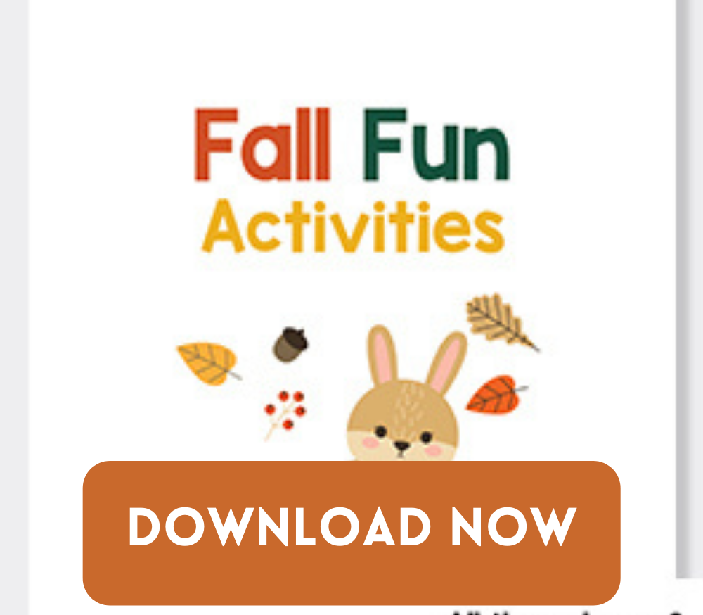 FALL PRINTABLE ACTIVITY PACK FOR KIDS