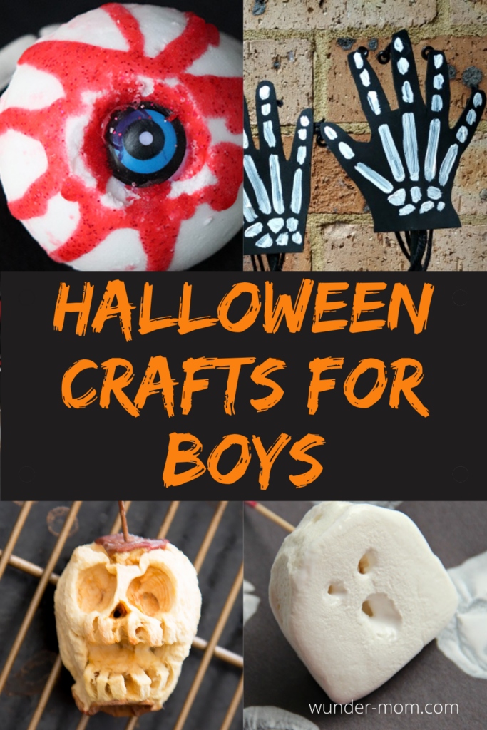 Halloween crafts for boys to make