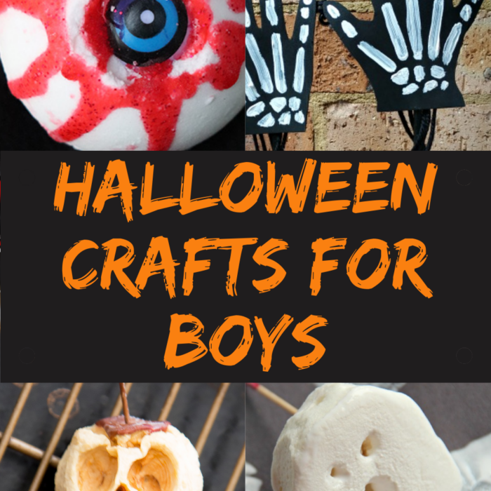 Halloween Crafts for Boys