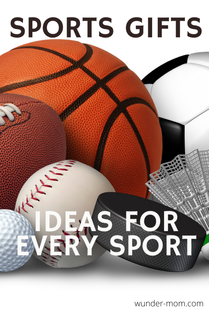SPORTS GIFTS FOR KIDS - 60+ IDEAS!  SOMETHING FOR EVERY SPORT!