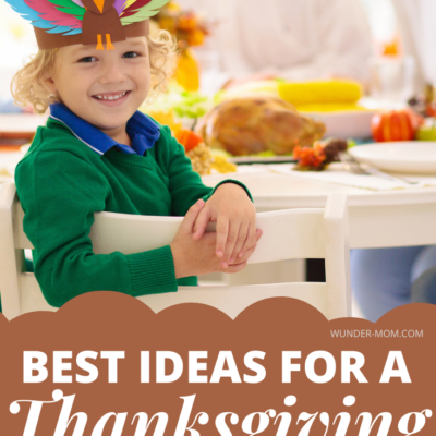 best ideas for a thanksgiving kids table