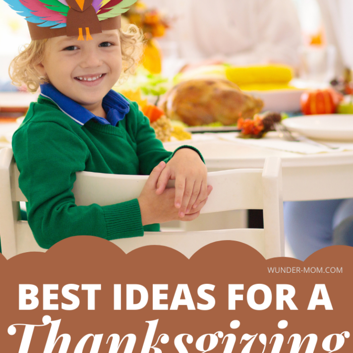 Thanksgiving Kids Table Ideas