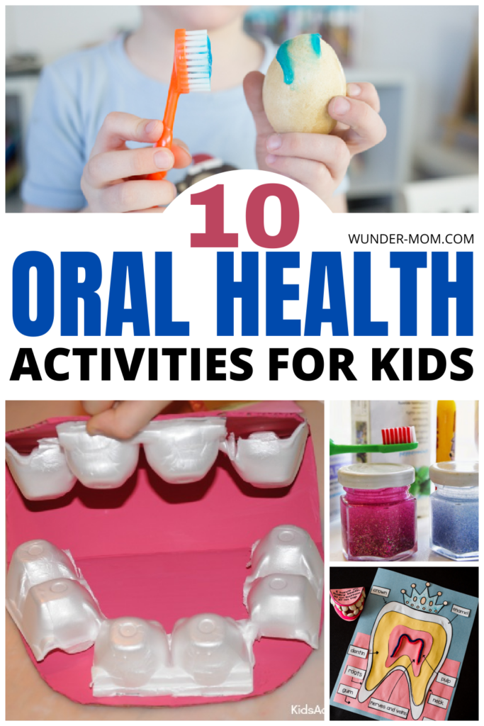 Oral health activities for kids
