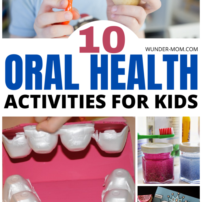 Super Fun Oral Health Activities for kids