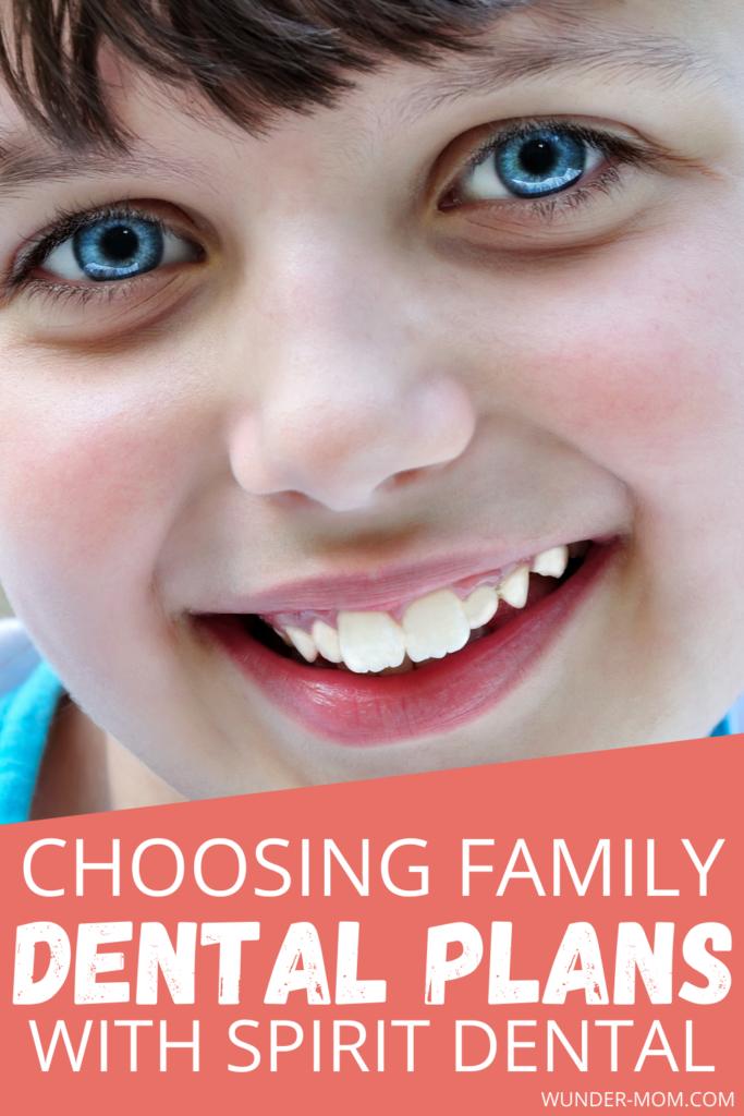 Spirit dental family dental insurance plans