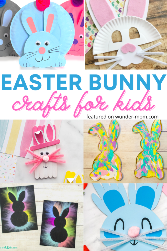 Easter bunny crafts for kids - a collection of top easter bunny crafts for kids to make .